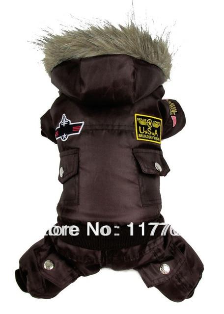Air Men Pet Dogs winter Coat
