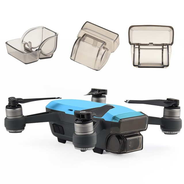 Gimbal Camera Guard Protector Lens Cover Cap Front 3D Sensor System Screen Cover Drone Accessory for Dji Spark