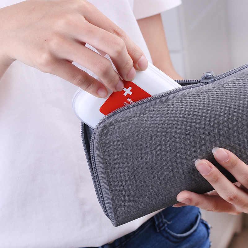 ミニピル主催分類錠ピルコンテナ 8 分割薬ボックススプリッタ収納ディスペンサー毎週ピルボックス