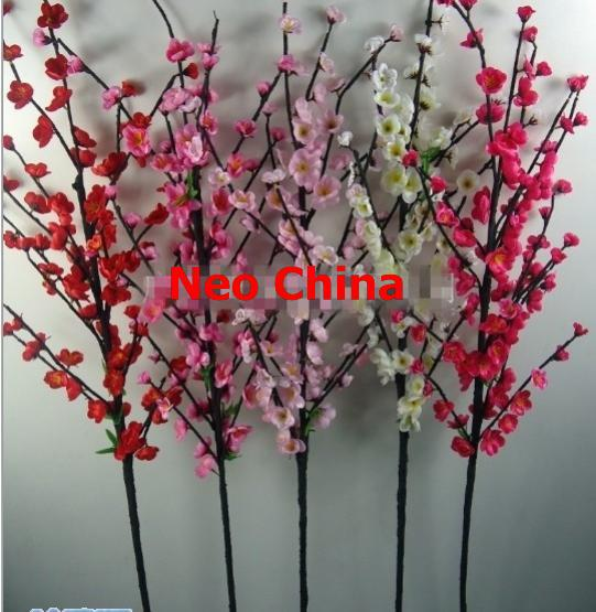 Wholesale High Quality Plum Blossompeachsakura Flowerhigh 140cm