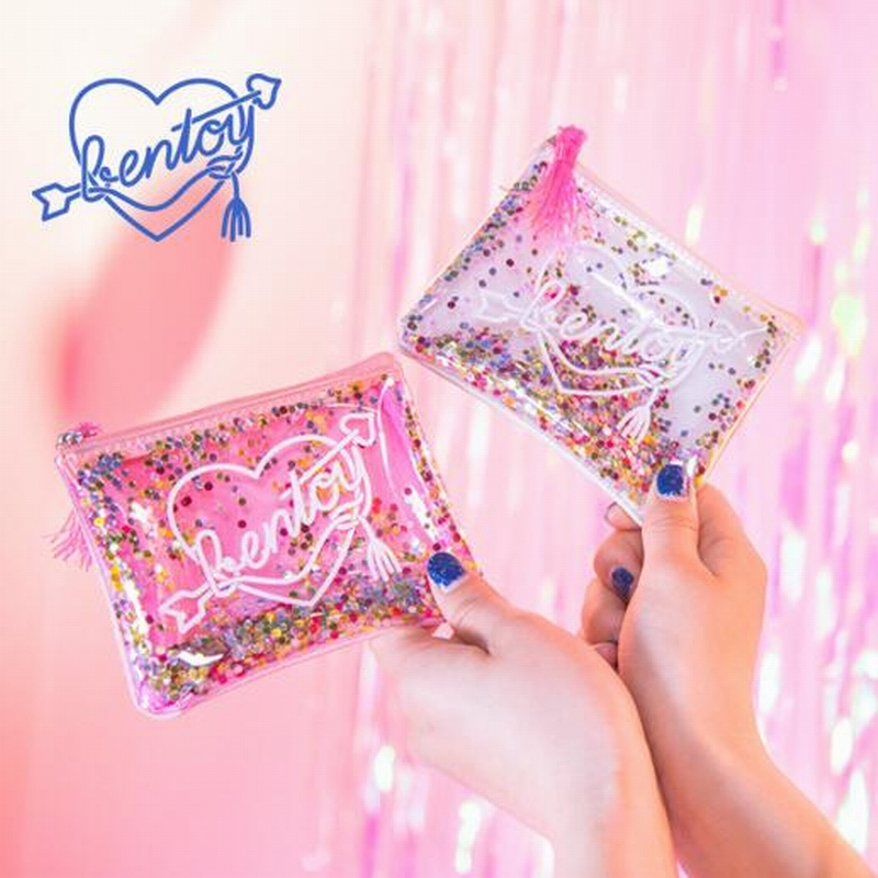 Portable Mini Round Sequins Coin Purse Bag For Women Plush Zipper Coin Pouch Kids Small Wallets Earphone Storage Key Wallet