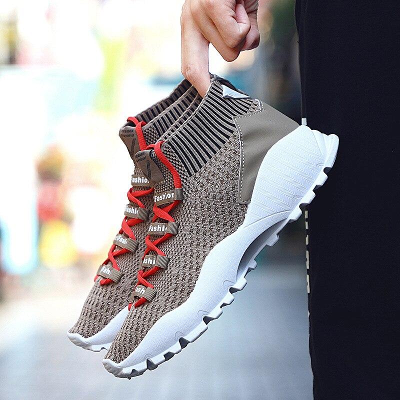 Men Vulcanize Shoes Men Breathable Light Soft Leisure Shoes for Men Trainers Sneakers