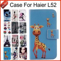 AiLiShi Factory Direct! For Haier L52 Case Flip Wallet Holder Leather Case Cover Protective Bag 100% Special Phone