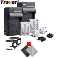 Battery And Charger Kit 2 Pack For Canon NB 4L CB 2LV Work With Canon PowerShot