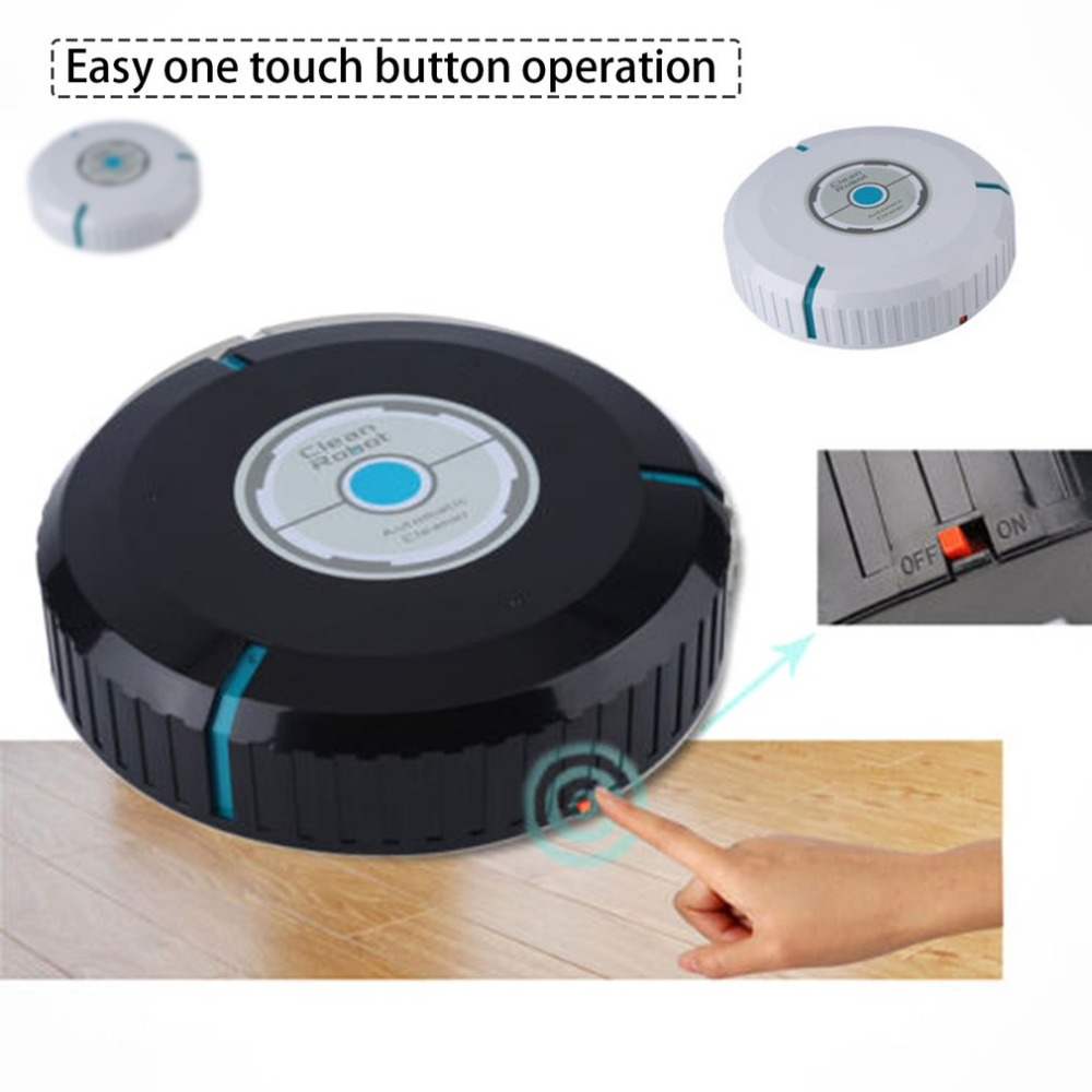 Smart Vacuum Cleaner Automatic Floor Dust Dirt Cleaning Robot Dry Wet Sweeping Machine Intelligent Sweeping Robot sweeping robot ultra thin fully automatic vacuum cleaner wiping machine wet and dry mute 1300pa high suction