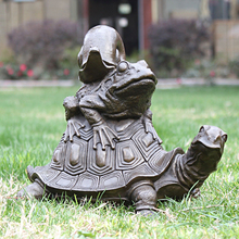 And longevity tortoise toad snail bronze sculpture crafts decoration art Home Furnishing decorations gifts