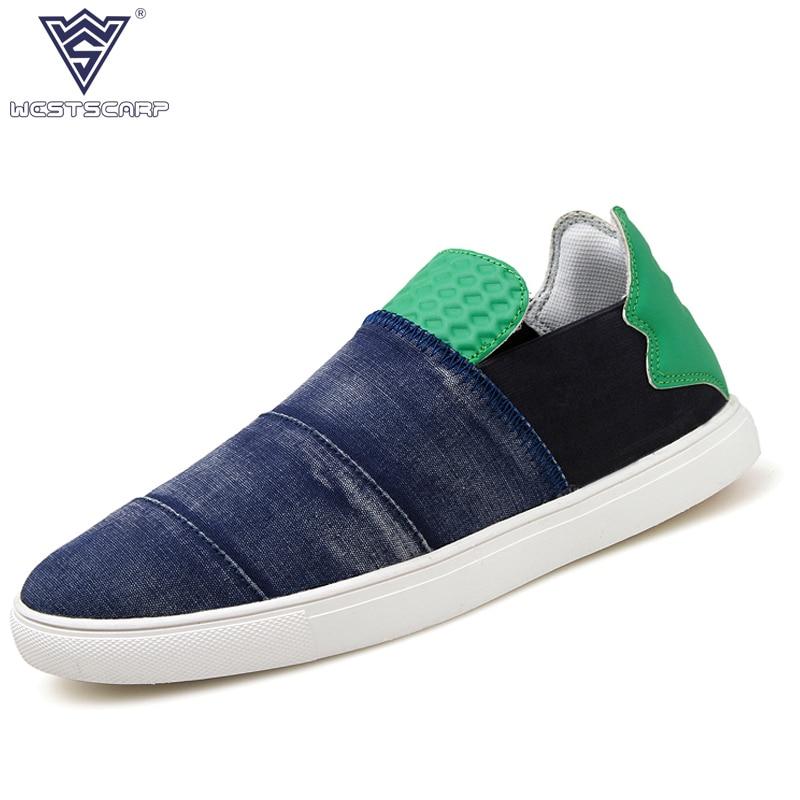Запад уступа 2018 Новая повседневная парусиновая обувь Для мужчин  Espadrille Обувь Лето Hombre Лоферы для женщин Демисезонный слипоны Sapato  masculino 68b43881373
