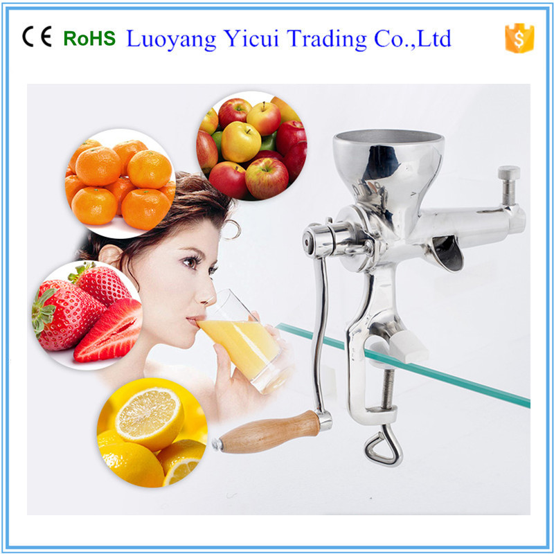 Stainless steel manual juicer wheatgrass Healthy Juicer healthy manual juicer for wheatgrass and fruits