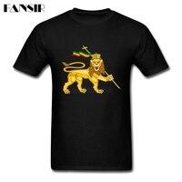 2019 Latest Shirt Men's Custom Cotton Short Sleeve Lion Of Judah Guys Brand Clothing Men Tshirts
