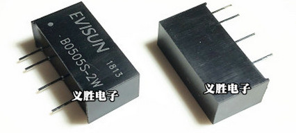 FREE SHIPPING 2PCS/LOT B0505s-2w Dc-dc Power Module Zip-4 5V To 5V