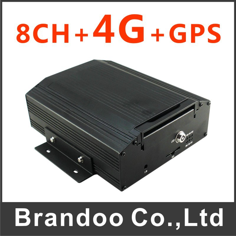 4G CAR DVR, 8 cameras recording, 2TB HDD, 240f/s for real time recording,with 3G and GPS, for bus,truck,long vehicles used