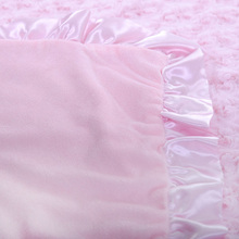 Comfortable Breathable Soft Satin Swaddle Blanket