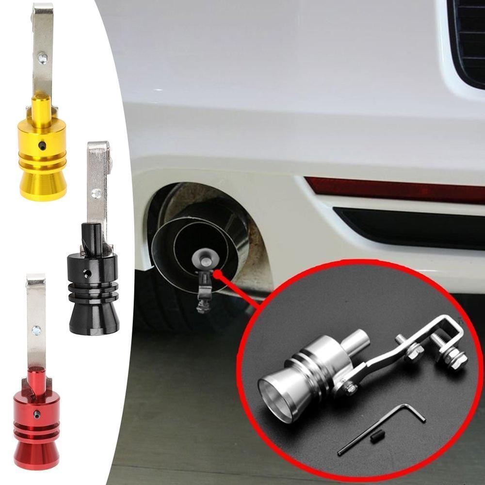 سيارة العادم الأنابيب صمام تنفيس الضغط محاكاة التوربينات الصوت صافرة الصوت سيارة تعديل التوربينات صافرة