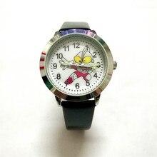 fdffa64ba1b Estudantes causal relógio de quartzo relógio de pulso das Crianças dos  desenhos animados Superman crianças meninos
