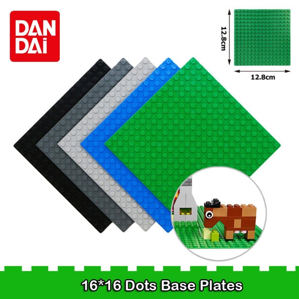 16*16 Dots Classic Base Plates Plastic Bricks Baseplates Compatible Legoe Major Brands Building Blocks Construction Toys XF30 big bricks building blocks base plate 51 25 5cm 32 16 dots baseplate diy bricks toy compatible with major brand blocks