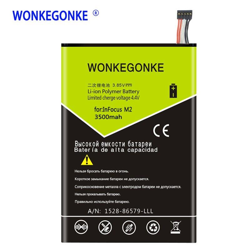 WONKEGONKE For InFocus UP140008 Battery For FOXCONN IoFocus M2 Batteries Bateria