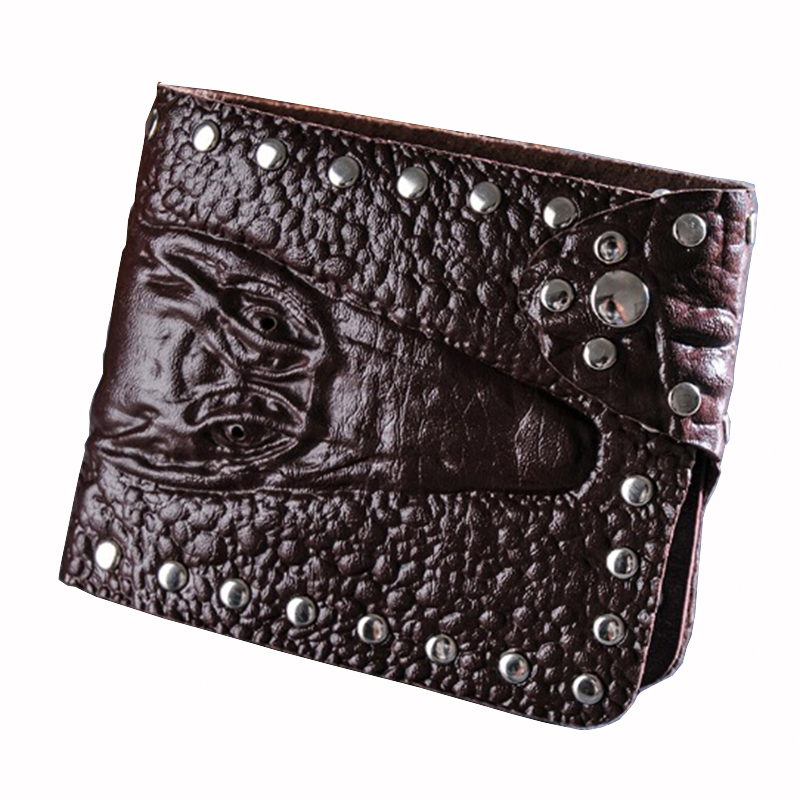 Clutch Wallets Purse Card-Holder Shot Man Grain Hasp Men Alligator Package Multi-Function