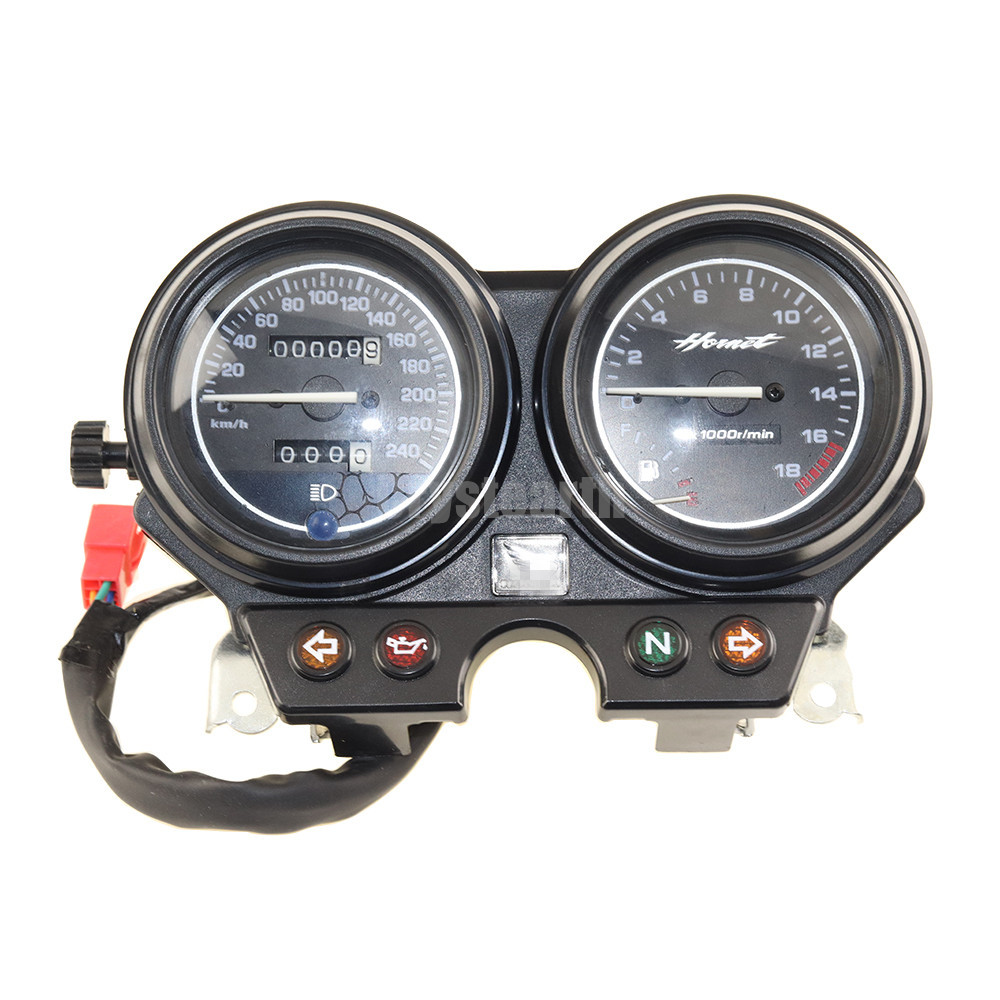 Motorcycle Gauges Cluster Speedometer Tachometer Meter Odometer Instrument Assembly 240 km/h For Honda 2000-2006 01 02 03 04 05 motorcycle tachometer odometer instrument speedometer gauge cluster meter for honda cb400 sf vtec i 1999 2001 1999 2000 2001