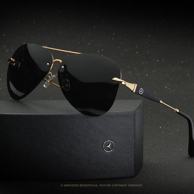 56420e791b83b Polarized Mercede Sunglasses Men 2019 high quality uv400 Brand Designer  Oculos De Sol Driving Fishing Sun Glasses with logo – Clotheseller
