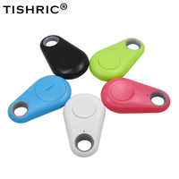 TISHRIC Hot Keyfinder Wallet Dog Cat kids GPS locator anti lost keychain Smart Search Bluetooth Tracker Tag itag Key Finder
