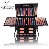 eye shadow palette glitter eyeshadow beauty glazed MISS ROSE Makeup Lip Long Lasting 180 Color Waterproof Eye Shadow Set