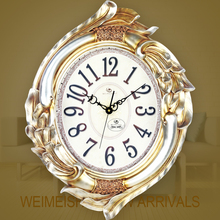 Large Wall Clock Saat Reloj Wall Clock Relogio de Parede Duvar Saati Horloge Murale relogio de parede wedding decorative clocks