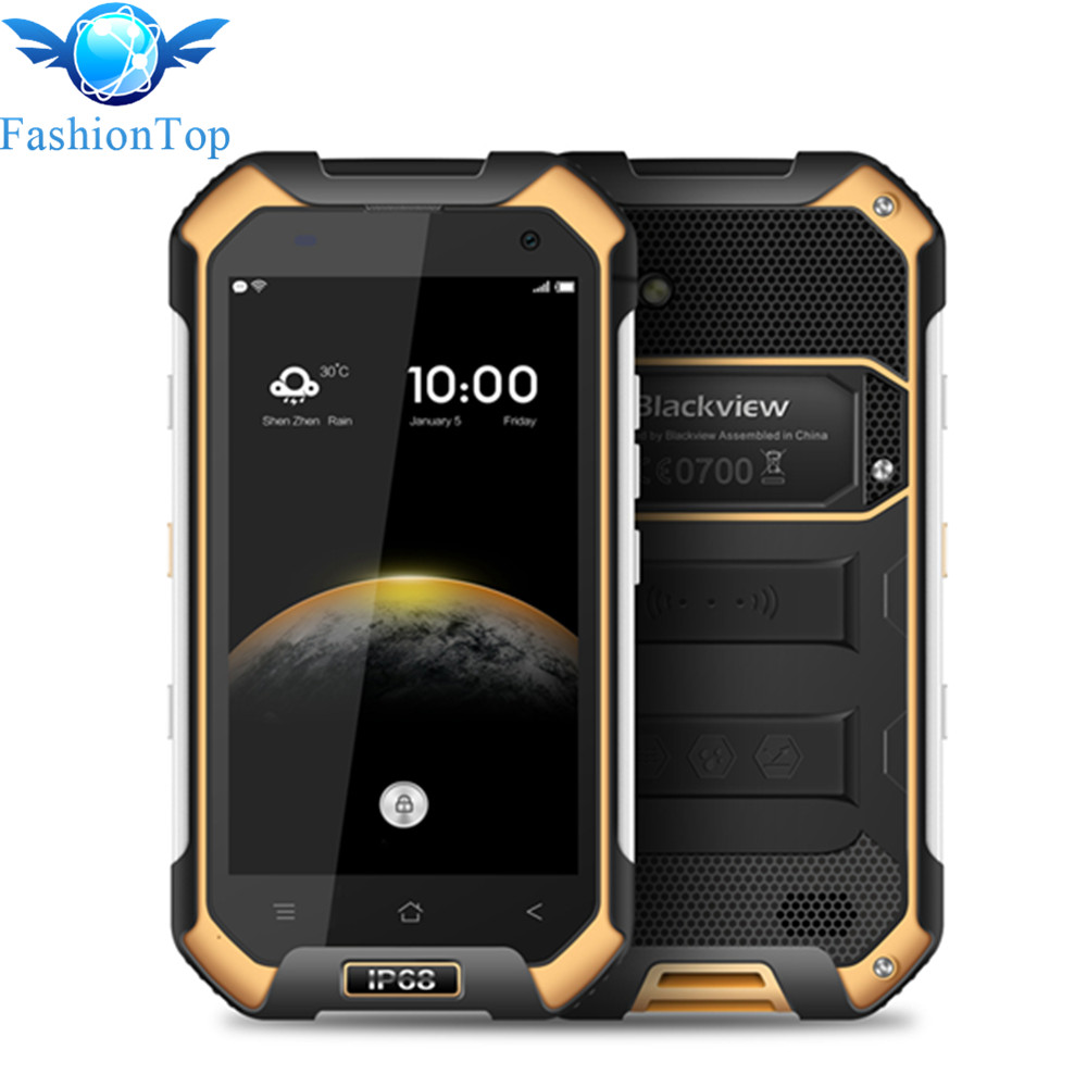 BLACKVIEW BV6000 4 7 inch 4G Shockproof Mobile Phone Android 6 0 MTK6755 Octa Core 3GB