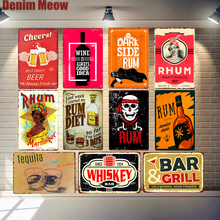 Cheers Best Price Vintage Metal Tin Signs Beer Wall Stickers Bar Grill Pub Cafe Home Decor Art Painting Decorative Plates N160