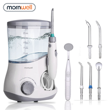 Mornwell Oral Irrigator Dental Water Flosser irrigator flosser Water Jet irrigador dental Family Oral Care new adults water flosser jet faucet oral irrigator dental toothbrush teeth cleaning irrigation irrigador oral no electricity