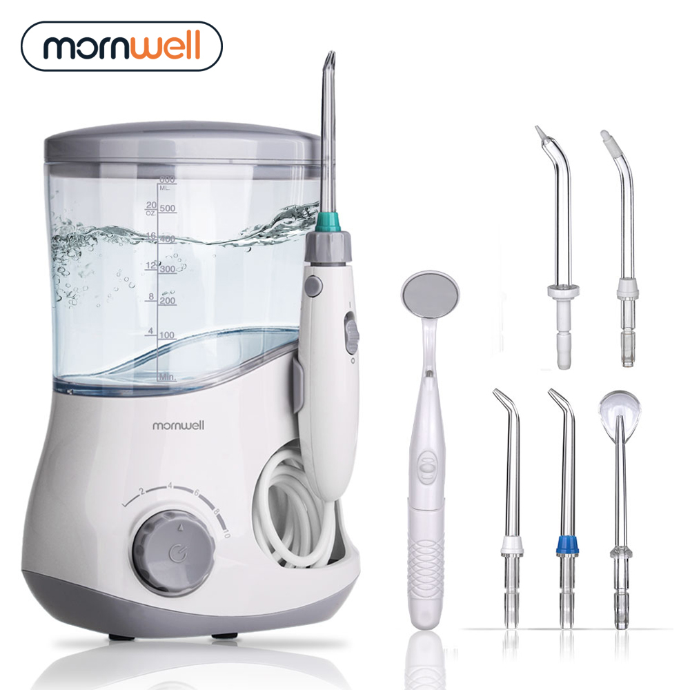 Mornwell irrigateur Oral dentaire Flosser dentaire irrigateur flosser Jet d'eau irrigador dentaire famille soins buccaux