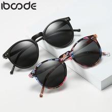 Iboode, поляризационные солнцезащитные очки, мужские, женские, для вождения, круглая оправа, солнцезащитные очки, Ретро стиль, мужские, женские, очки, UV400, оттенки, Oculos Gafas De Sol