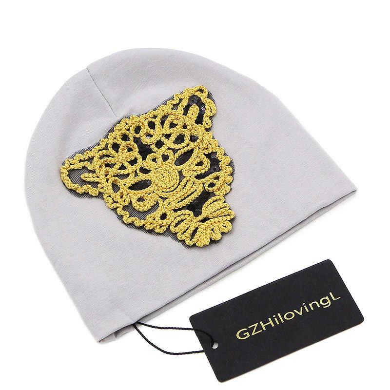 GZHilovingL хлопковая детская шапка Твердые крышки для маленьких мальчиков и девочек шапка для новорожденного шляпа весна осень зима дети животные детские шляпы кепки