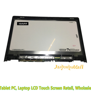 Suitable for Lenovo YOGA 3 14 80JH 80QD series yoga 700-14IBK NV140FHM-A10 touch glass digitizer + LCD display assembly with fra