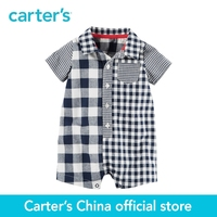 Carter's 1pcs baby children kids Gingham Romper 118H010,sold by Carter's China official store
