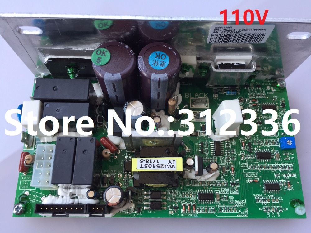 Free Shipping 110V JOHNSON treadmill T104 Motor Controller drive plate single plate computer genuine control board circuit board fast shipping dc motor for treadmill model a17280m046 p n 243340 pn f 215392
