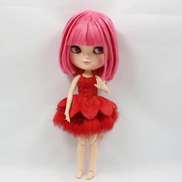 ICY Neo Blythe lutka kratka ružičasta kosa Azone tijelo