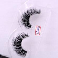 Novo vison cílios claro banda cílios de olho crisscross faixa transparente cílios postiços artesanais dramáticos cílios chicote superior