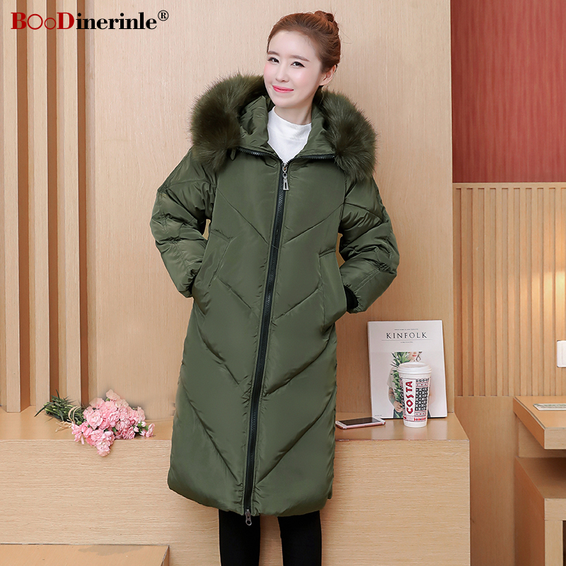Manteaux Green Parka Manteau Fourrure Blue Fur Capuchon Veste Fur Slim royal army Coton Hiver De Épaississent Femme Down Boodinerinle Casual black army Color Outwear À Femmes Fur Green Black My335 Chaud Blue royal Col UFBzSwn6vq
