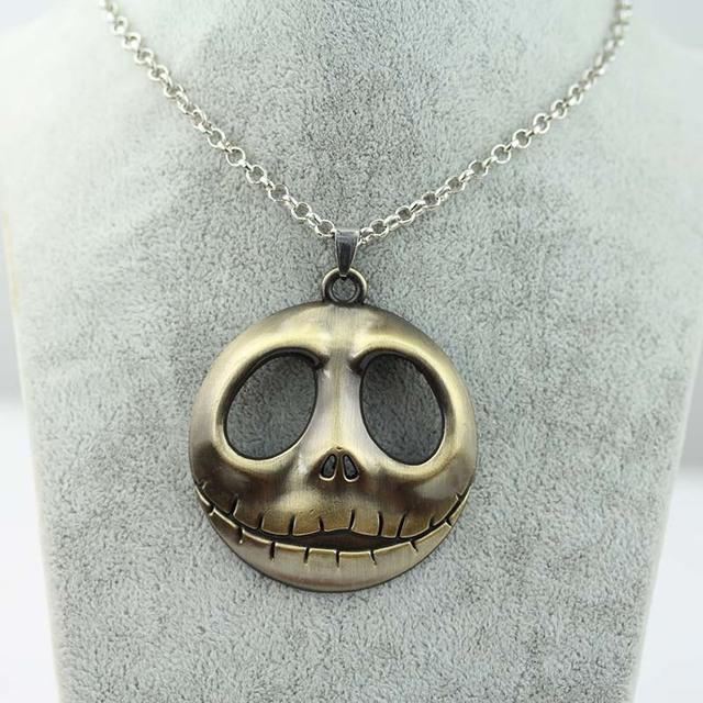 Nightmare Before Christmas Movie Jack surrounding skull Necklace & pendant