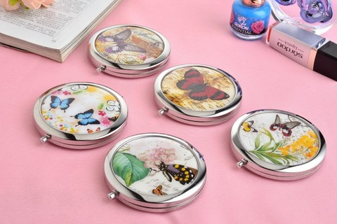100 pcs lote nova borboleta coreano epoxi