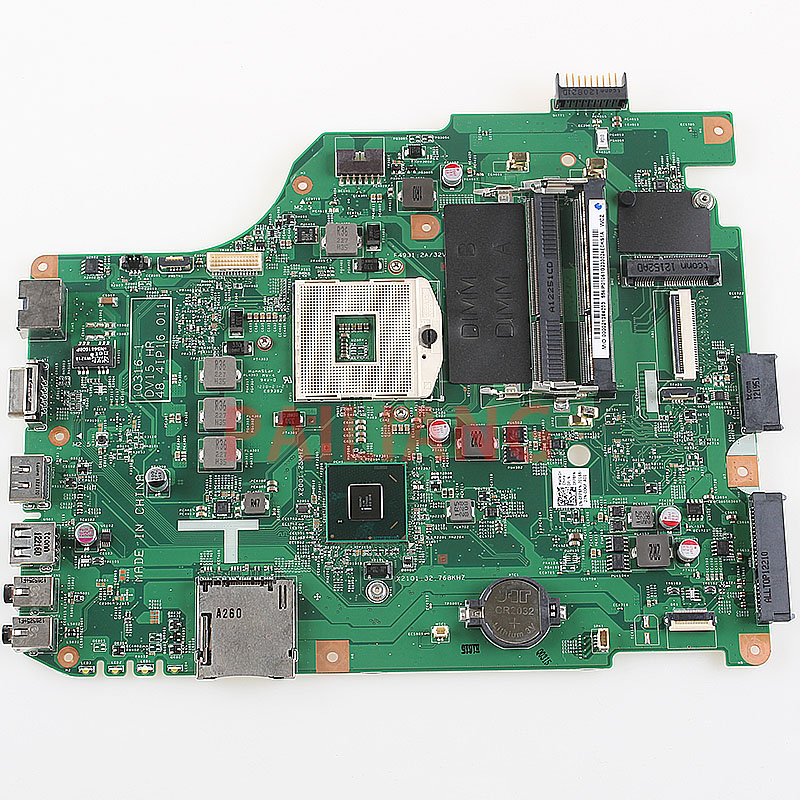 PAILIANG Laptop motherboard for DELL 15R N5050 V1550 PC Mainboard 0FP8FN full tesed DDR3
