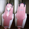 "100cm 39"" Long Straight Cherry Pink Krul Tepes Wig Owari no Seraph Of The End Synthetic Hair Anime Cosplay Wig Ponytail Wigs"