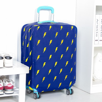 NAAN GUO Lightning Printed Non woven Luggage Dust Cover Protective Suitcase Cover Trolley Case Travel Luggage