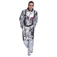 Astronaut Space Suit Costume Astronaut Spacesuit Stage Performance Cosplay Costume Halloween Carnival Party For Adult Children
