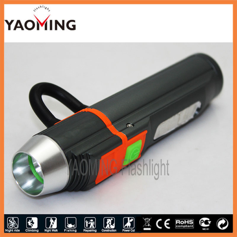 USB ไฟฉาย led CREE Q5 2000LM led - แสงแบบพกพา