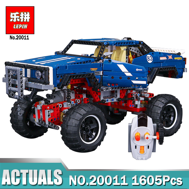Lepin 20011 Technic Remote Control Electric off-road Vehicles building block toys compatible with Legoing 41999 Technic Toys advanced intelligent vehicles control