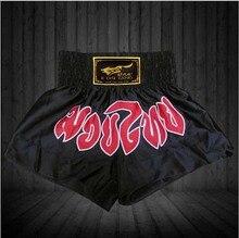 New mens mma muay thai shorts for men kick boxing short pantalon boxeo cool fight shorts kickboxing trunk