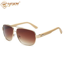 High fashion bamboo glasses man brand design sunglasses handmade bamboo wooden sun glasses for women man 1511