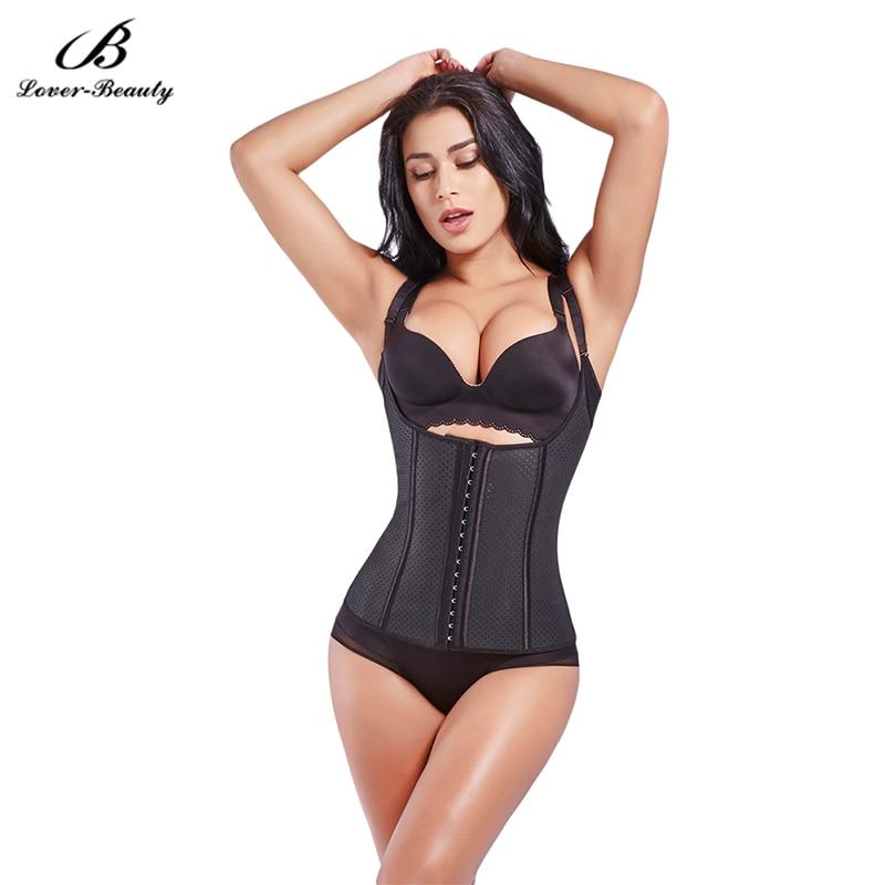 Lover Beauty Slimming Waist Trainer Vest Latex Waist Trainers Waist Cincher Corsets Weight Loss waist Body Shaper ShapewearB