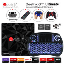 Beelink GT1 Ultimate TV Box 3G 32G Amlogic S912 Octa Core CPU DDR4 2.4G + 5.8G double WiFi Android 6.0 décodeur lecteur multimédia X92(China)